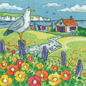 Heritage Crafts, Poppy Shore - By The Sea - Karen Carter, Needles and Things
