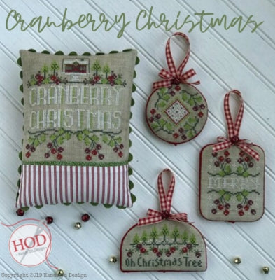 Hands on Design, Cranberry Christmas (4 designs), Needles and Things