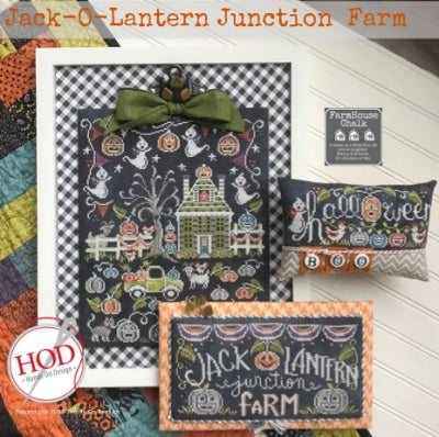 Hands on Design, Jack-o-Lantern Junction Farm (3 designs), Needles and Things