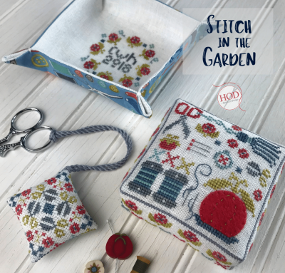 Stitch in the Garden (3 designs)