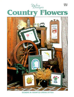 Debra Designs, Country Flowers, Needles and Things