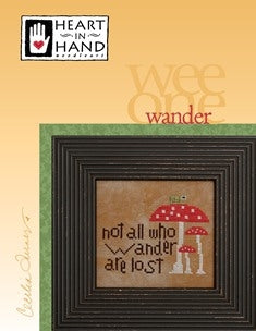 Heart In Hand Needleart, Wee One: Wander, Needles and Things
