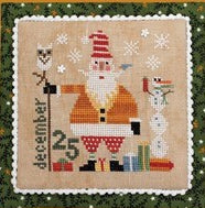 Heart In Hand Needleart, Wee One: Santa 2018, Needles and Things