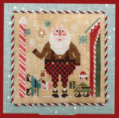 Heart In Hand Needleart, Wee One: Wee Santa 2019, Needles and Things