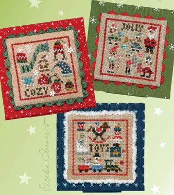 Christmas Square Dance 3 (3 designs)