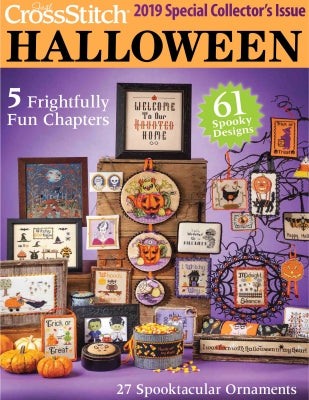 Just Cross Stitch, 2019 Just Cross Stitch Halloween Special Collector's Issue, Needles and Things