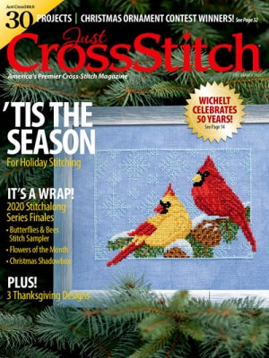 Just Cross Stitch Magazine Tis the Season November/December 2020