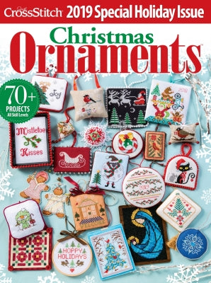 Just Cross Stitch, Just Cross Stitch Magazine Christmas Ornaments 2019, Needles and Things