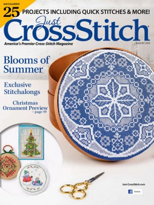 Just Cross Stitch, Just Cross-Stitch July/August 2019 - 25 Projects, Needles and Things