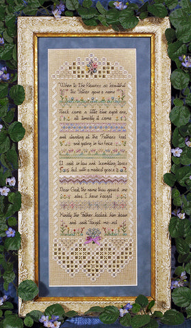 Forget-me-not Sampler Chart
