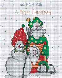 PINN Stitch/Art & Technology Co. Ltd., We Wish You A Merry ChristmasKit, Needles and Things