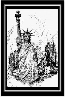 Lady Liberty - Pen and Ink Series