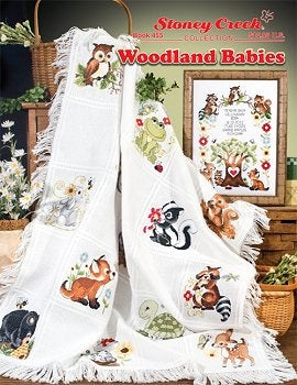 Stoney Creek Collection, Woodland Babies Afghan & Sampler, Needles and Things