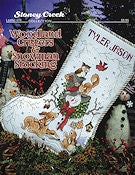 Woodland Critters & Snowman Stocking- Leaflet