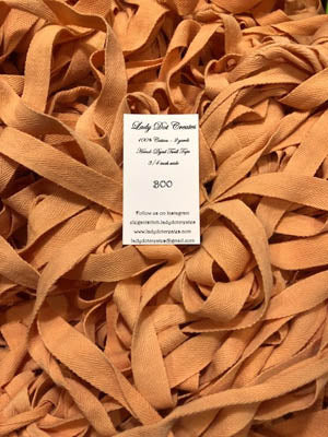 Lady Dot Creates, Boo (Orange) Twill Tape - 2 yd, Needles and Things