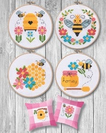 The Tiny Modernist, Bees & Honey (6 designs), Needles and Things