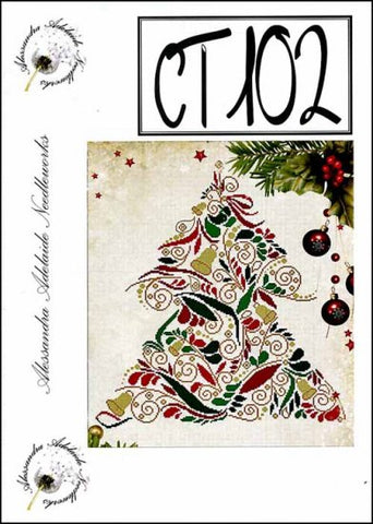 Alessandra Patterns, CT 102 (Christmas Tree), Needles and Things