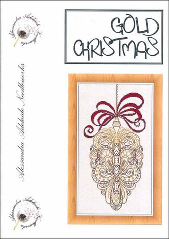 Alessandra Patterns, Gold Christmas, Needles and Things