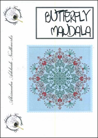 Alessandra Patterns, Butterfly Mandala, Needles and Things