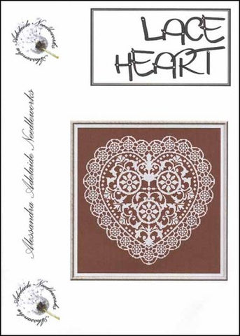 Alessandra Patterns, Lace Heart, Needles and Things