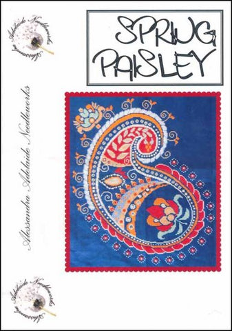 Alessandra Patterns, Spring Paisley, Needles and Things