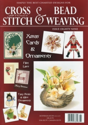 Jill Oxton, Cross Stitch & Bead Weavin, Needles and Things