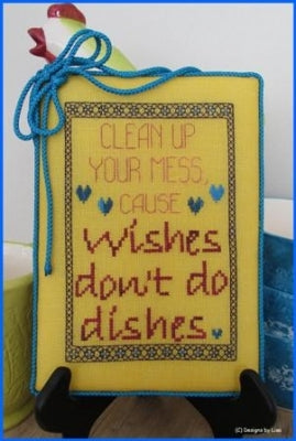 Designs By Lisa, Wishes Don't Do Dishes, Needles and Things