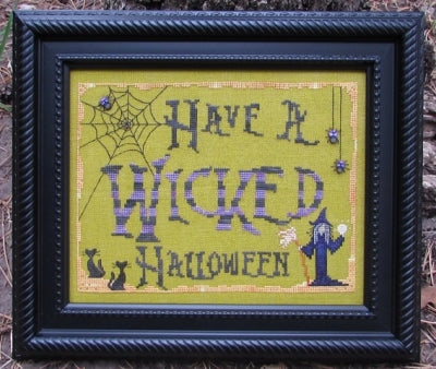 Designs By Lisa, Have a Wicked Halloween, Needles and Things
