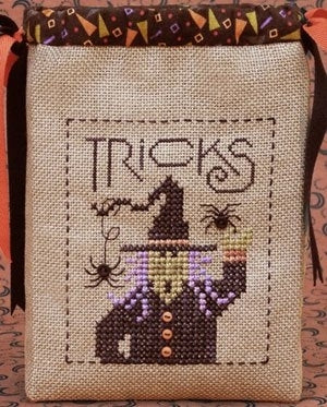 Drawn Thread, Tricky Witch - Trick or Tr..., Needles and Things