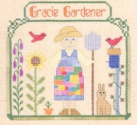 Elizabeth's Needlework Designs, Gracie Gardener, Needles and Things