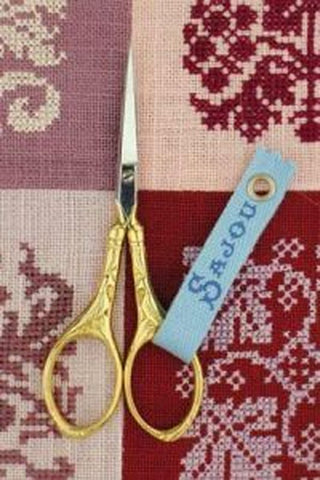 Sajou Scissors, Sajou Peacock Scissor - Gilded Handle, Needles and Things