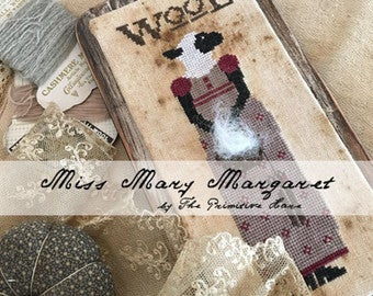 Primitive Hare, Miss Mary Margaret Wool, Needles and Things