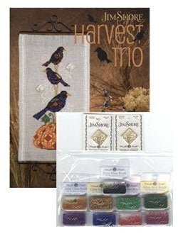 Jim Shore, Harvest Trio Embellishment Pack, Needles and Things