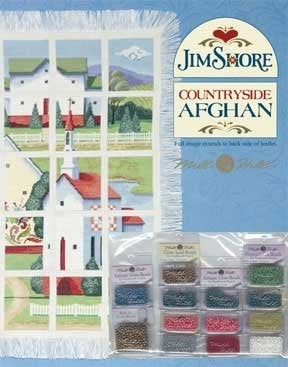 Jim Shore, Countryside Afghan Embellishment Pack, Needles and Things