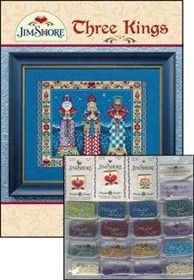 Jim Shore, Three Kings Embellishment Pack, Needles and Things