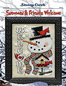 Snowman & Friends Welcome