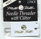 Needles and Things, Mill Hill Needle Threader w/cutter, Needles and Things
