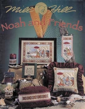 Mill Hill Publications, Noah & Friends	Noah & Friends; Mill Hill Publications; Fabric: 328153, Needles and Things