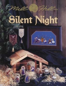 Mill Hill Publications, Silent Night	Silent Night; Mill Hill Publications; Fabric: 328153, 3281557, Needles and Things