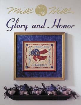 Mill Hill Publications, Glory And Honor	Glory And Honor; Mill Hill Publications; Fabric: 32813009, 76135, Needles and Things