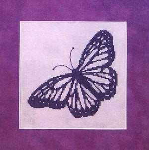 Springberry Kreek Designs, Butterfly Silhouette, Needles and Things