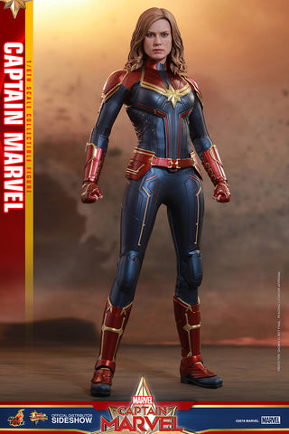 Captain Marvel Sixth Scale Figure by Hot Toys (IN STOCK NOW!) 904462