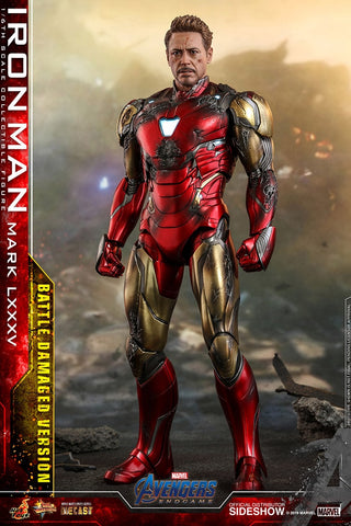 Avengers: Endgame - Iron Man Mark LXXXV (Battle Damaged Version) Sixth Scale Figure by Hot Toys (September 2021) 904923