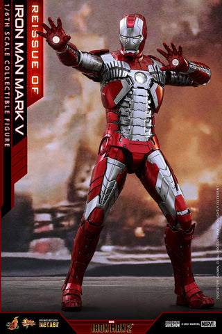 Iron Man Mark V Sixth Scale Figure by Hot Toys (Expected to Ship: Apr 2022 - Jun 2022) 907514