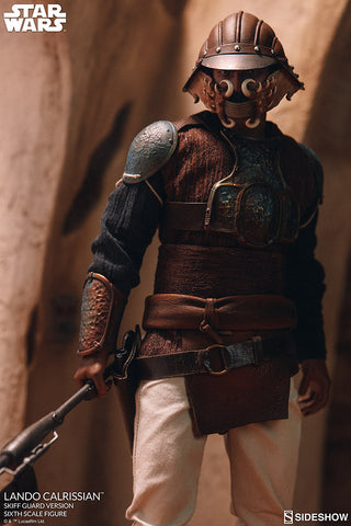Star Wars: Lando Calrissian (Skiff Guard Version) Sixth Scale Figure by Sideshow Collectibles (January 2021) 100429