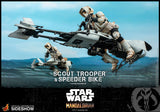 Scout Trooper and Speeder Bike Sixth Scale Figure Set by Hot Toys (Apr 2021 - Jun 2021) 906340