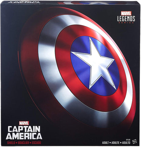 Marvel Legends Captain America Full-Size Shield - Metal Version
