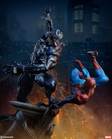Spider-Man vs Venom Maquette by Sideshow Collectibles (Jan 2021 - Mar 2021) 200561
