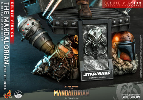 The Mandalorian and The Child (Deluxe) Collectible Set by Hot Toys (Oct 2021 - Dec 2021) 907266