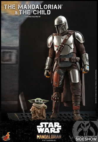 The Mandalorian and The Child Collectible Set by Hot Toys (July 2021) 906135
